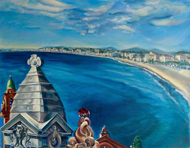 , 'Nice Bay,   (Cote d'Azur),' 2014, NoonPowell Fine Art