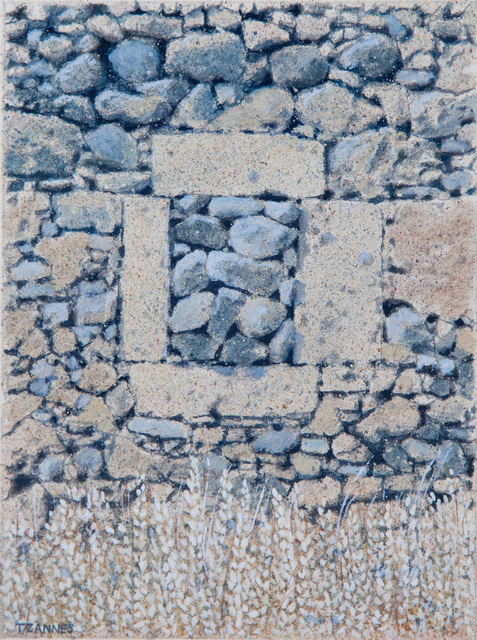 George Tzannes, 'Ancient Rock Wall with Stone-filled Window', 1987, Arco Gallery