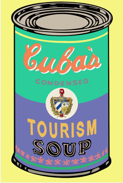 Nelson De La Nuez, 'Nelson De La Nuez, Soup of the Day: Cuban Tourism', 2017, Oliver Cole Gallery
