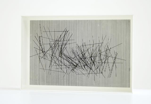, 'Vibrations,' 1967, Galerie Hans Mayer