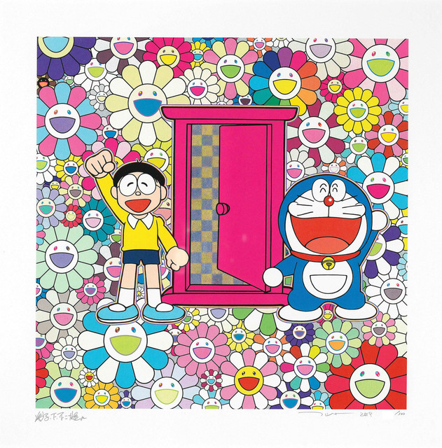 Takashi Murakami, 'We Came to the Field of Flowers Through the Anywhere Door', 2019, Vogtle Contemporary
