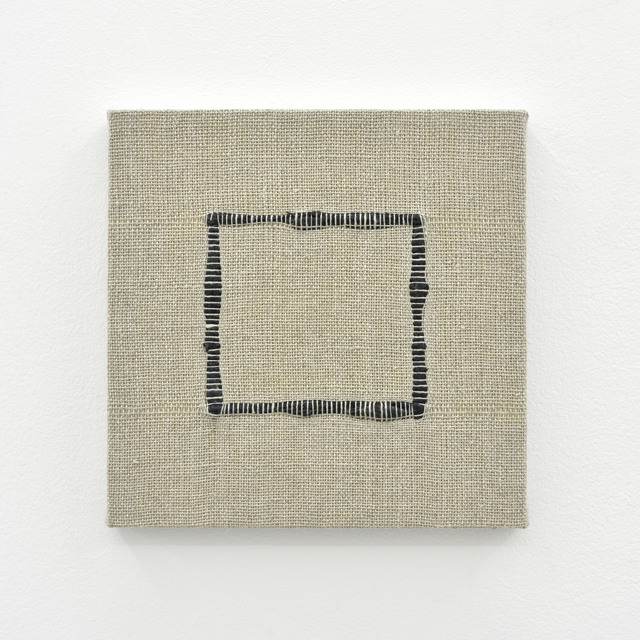 , 'Composition for Woven Square Outline (Black),' 2017, PRAZ-DELAVALLADE