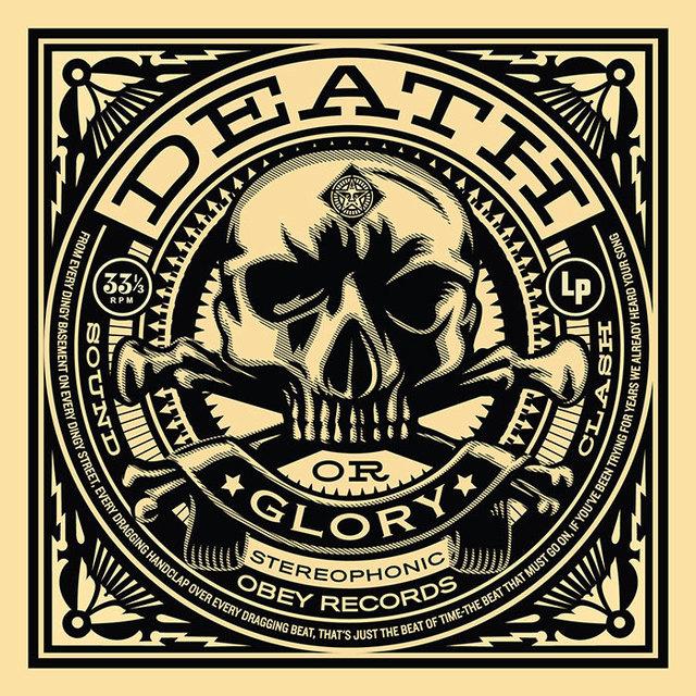 Shepard Fairey (OBEY), '50 Shades of Black Box Set: Death or Glory', 2014, Taglialatella Galleries