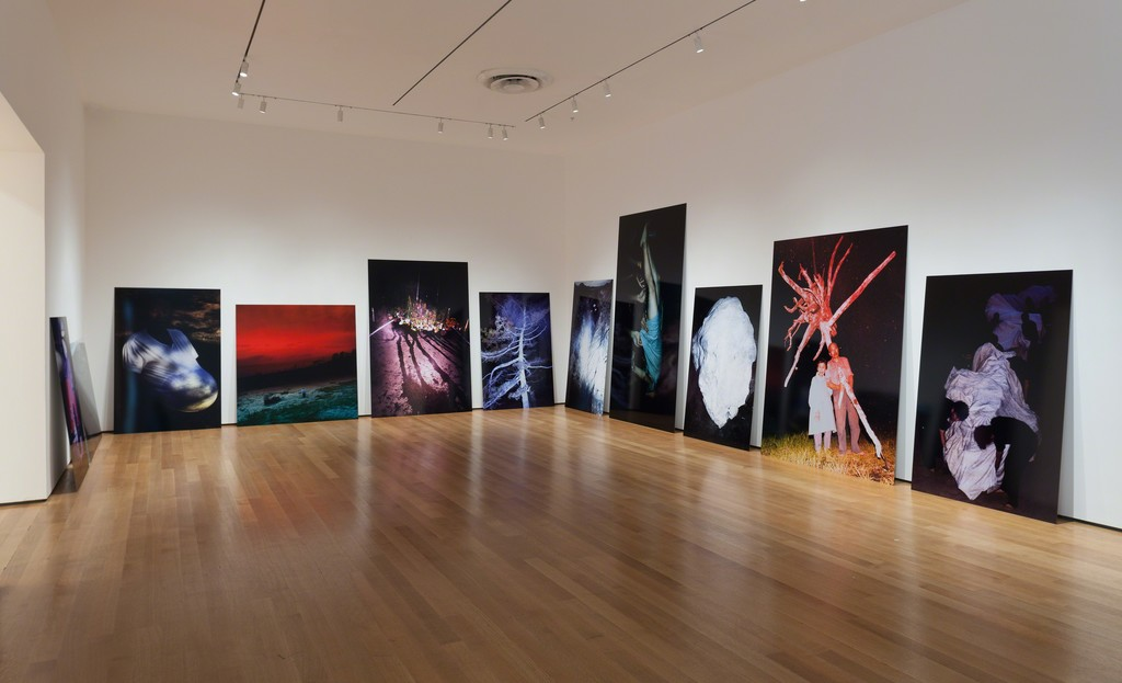 Installation view of Ocean of Images: New Photography 2015. The Museum of Modern Art, New York, November 7, 2015–March 20, 2016. © 2015 The Museum of Modern Art. Photo: Thomas Griesel