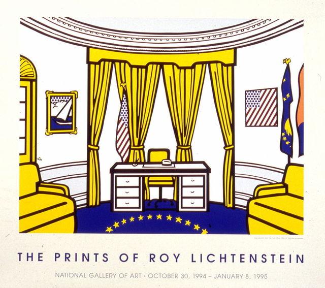 Roy Lichtenstein, 'The Oval Office', 1994, MSP Modern