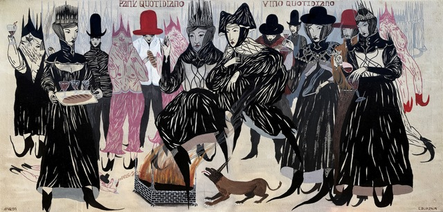 , 'Daily Bread / Daily Wine,' 2019, La Luz de Jesus Gallery