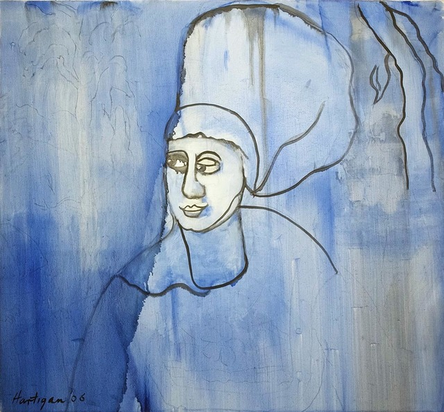 , 'Blue 16th Century Woman,' 2006, C. Grimaldis Gallery