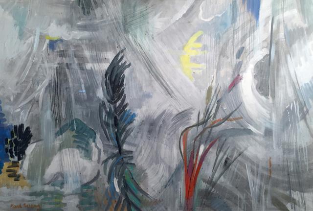 Karl Schrag, 'WHITE STORM', 1950-1970, Edward T. Pollack Fine Arts