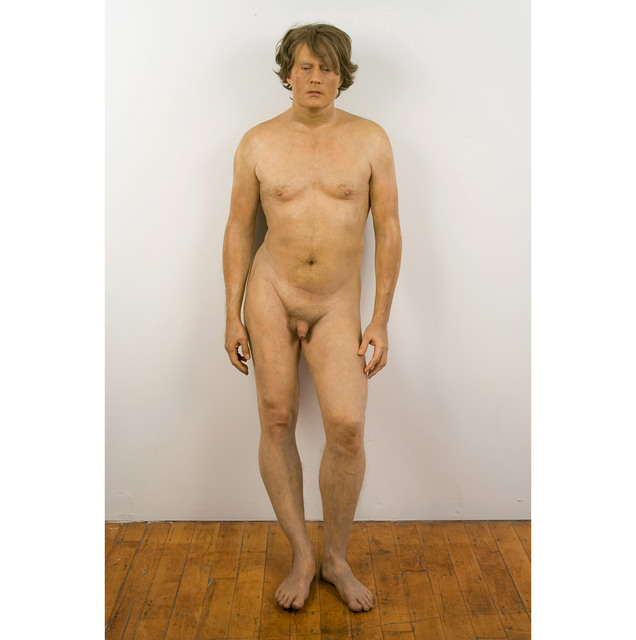 , 'Man Leaning Against Wall,' 1976, Allan Stone Projects