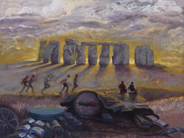 , 'Stonehenge,' 2017, Barnard