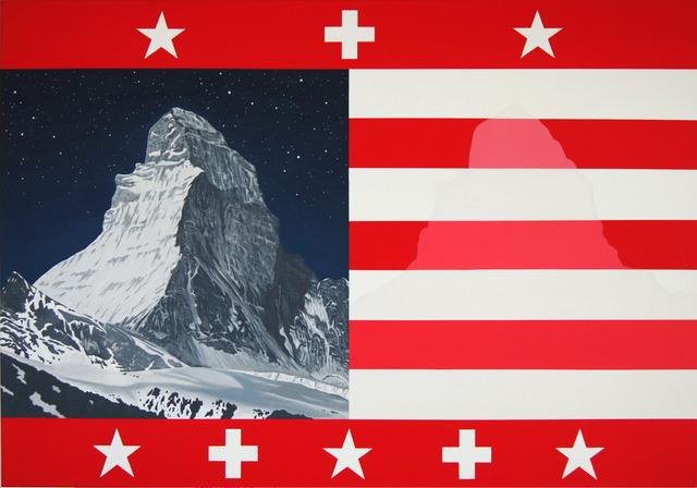 Patrick Pfau, 'United States of Switzerland', 2017, Sarasin Art