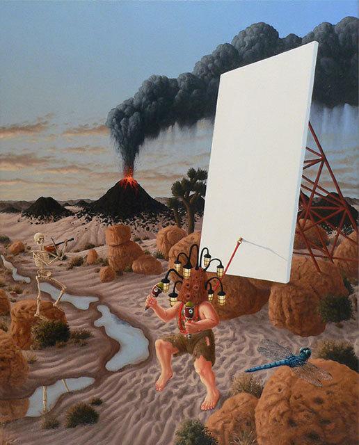 Steve Galloway, 'Trance Dance', 2017, Painting, Oil on canvas, Craig Krull Gallery