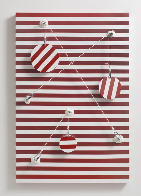 , 'Red_Stripes,' 2016, Steve Turner