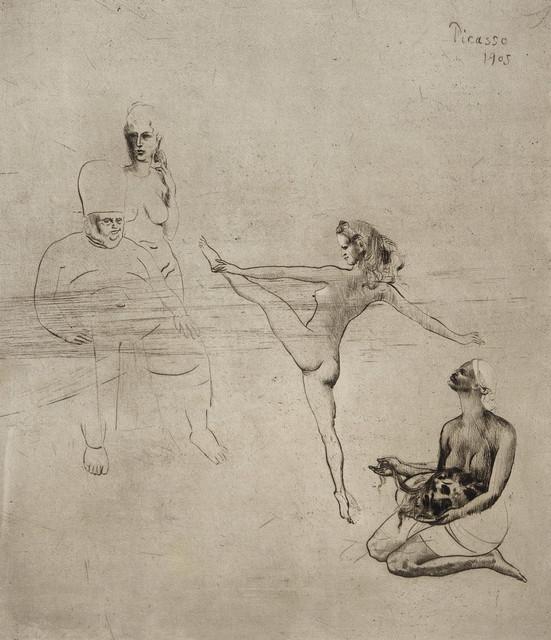 Pablo Picasso, 'Salomé', 1905, Los Angeles County Museum of Art