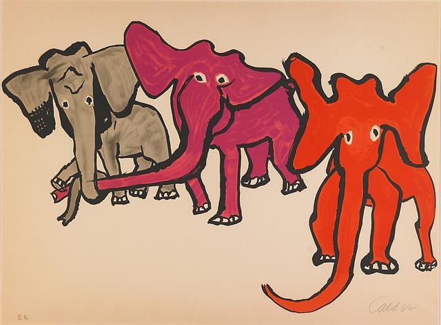Alexander Calder, 'Elephants from Our Unfinished Revolution', 1976, Rago