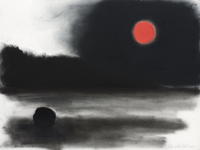 , 'Boulder and Blood Moon,' 2015, Galerie Lelong & Co.