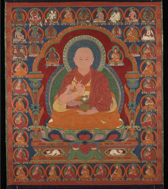 , 'Lama (Teacher) Mawai Sengge,' 17th century, Rubin Museum of Art