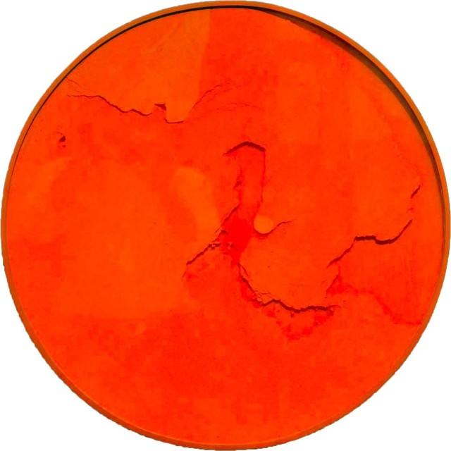 , 'Cercle Orange Fluo,' 2011, RGR+ART