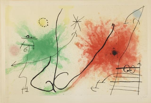 Joan Miró, 'Partie de Campagne V (D. 434)', 1967, Sotheby's