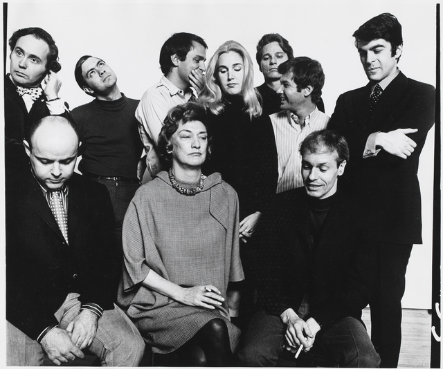 , 'Group with Eleanor Ward at Stable Gallery,' 1967, Alexander and Bonin