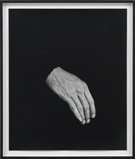 , 'Hand on Body (Thigh,' 2012, Sies + Höke
