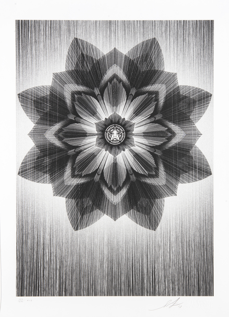 Shepard Fairey, 'Obey X Kai & Sunny (Black & Silver)', 2013, Tate Ward Auctions