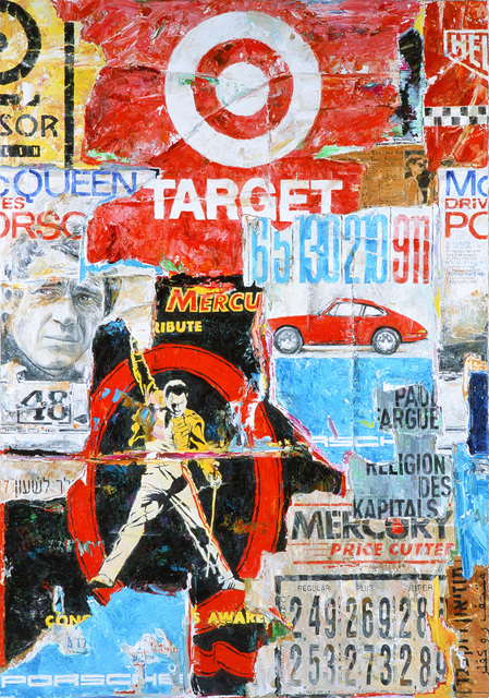 , 'Mauer I Lement Minus 29 (Target),' 2018, CAMERA WORK