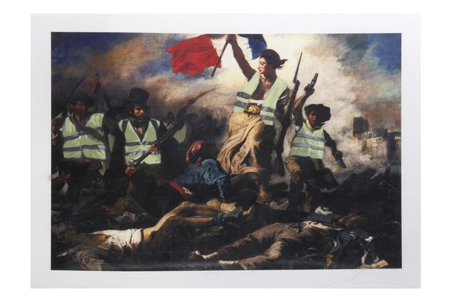 Luke Cornish (ELK), 'Gilet Jaune', 2019, Chiswick Auctions