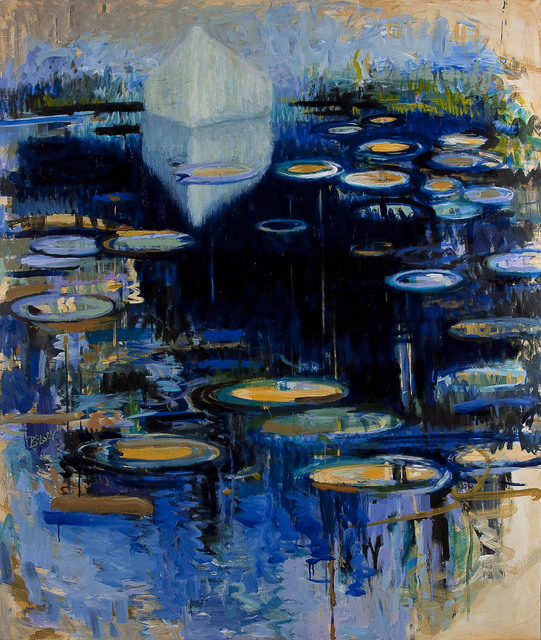 , 'White Canoe with Lilies,' 2015, Cross Mackenzie Gallery