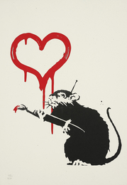 Banksy, 'Love Rat,' 2004, Phillips: Evening and Day Editions
