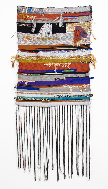 , 'Fourth Weaving (Rust and Twill),' 2016, Ochi Projects