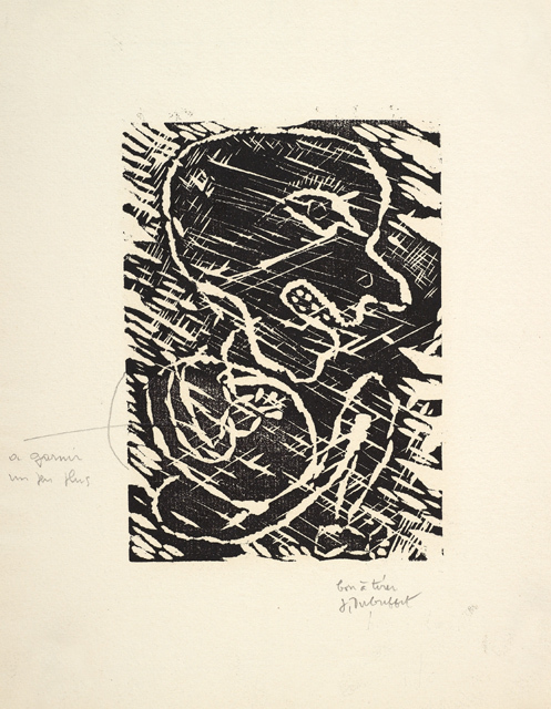 Jean Dubuffet, 'Personnage Accroupi', 1948, Galerie Maximillian