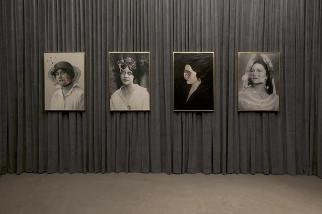 , 'Installation view: Olga Forever (Olga Picasso, London, ca. 1919), (Olga Picasso, bal des Beaumont, 1924),' , Almine Rech