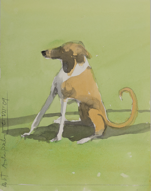 Robert Andrew Parker, 'Brown + White Dog', 2009, Andrea S. Keogh Art and Design