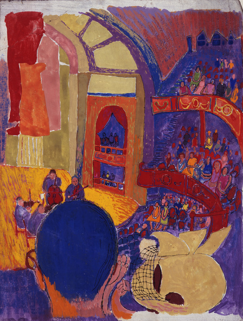 , 'View of Concert Hall,' ca. 1940, Andy Warhol Museum