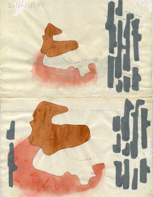 , 'Werkzeichnung,' 19661968, Galerie Jocelyn Wolff