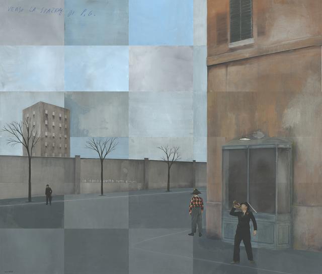 , 'Verso la Stazione di P.G.,' 2017, Edwynn Houk Gallery