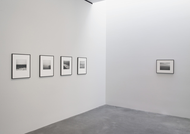 ", 'Installation image: Pace Gallery, ""Callahan & Misrach"" show, New York, 2013,' , Pace Gallery"