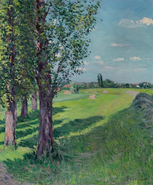 , 'Vue du Petit Gennevilliers depuis le 'Fossé de l'Aumone',' ca. 1889, Richard Green Gallery