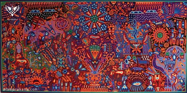 Luis Torres, 'Maxa Unutzi', 2018, Marakame - Arte Huichol