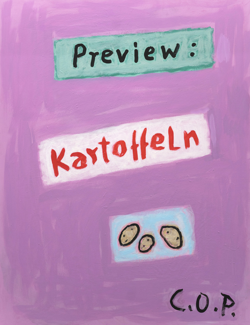 , 'o.T. (Preview Kartoffeln),' 2008, Ruttkowski;68