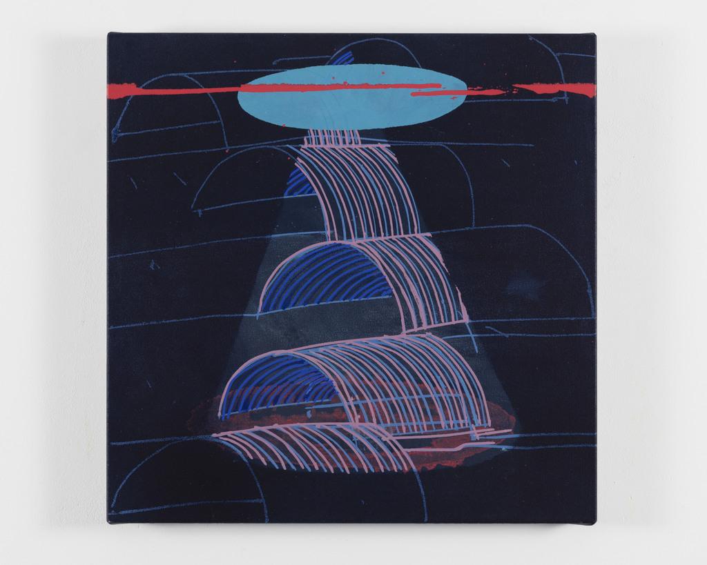 Lampe Suspension Papier Design https://www.artsy/artwork/wc-richardson-light-through-time