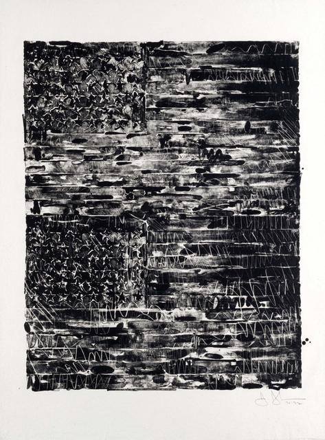 Jasper Johns, 'Two Flags', 1972, Susan Sheehan Gallery