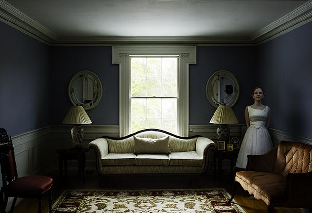 , 'Girl in Blue Room,' , Pucker Gallery