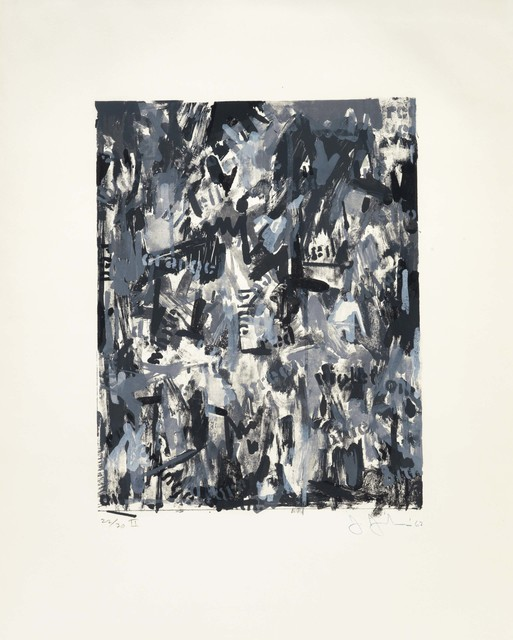 Jasper Johns, 'False Start II', 1962, Christie's