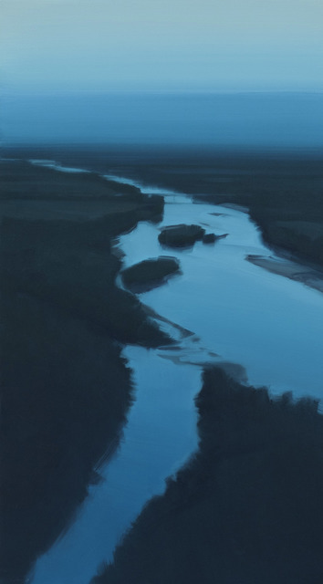 , 'Blue Bridge,' 2017, CIRCA Gallery