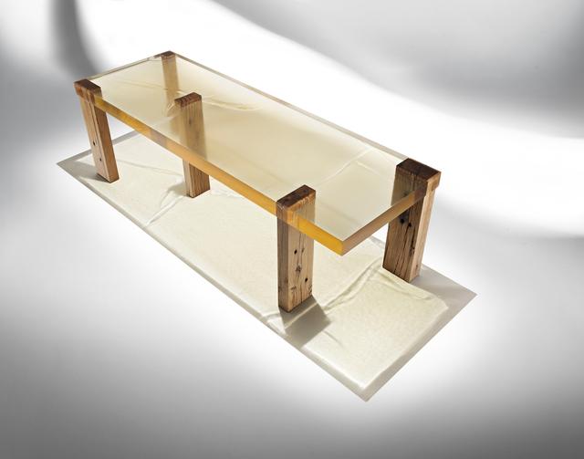 , 'Wood Fossil Table 01,' 2013, ammann//gallery