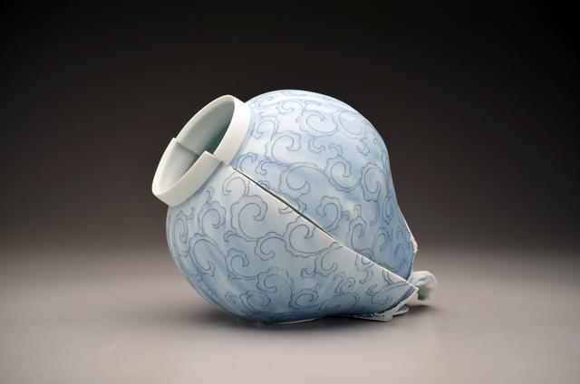 , 'Jar with Scroll Pattern,' 2017, Duane Reed Gallery