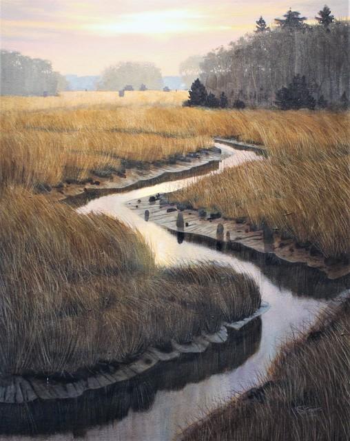 , 'Marsh Vista,' 2017, Peninsula Gallery