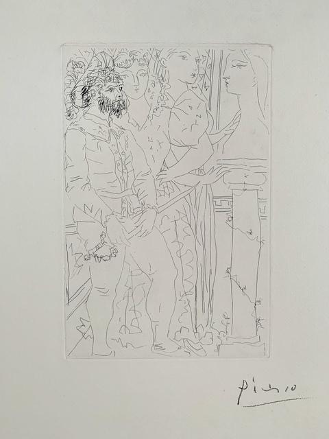 Pablo Picasso, 'Trois Acteurs', 1933, Van der Vorst- Art